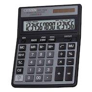 Фото Калькулятор Citizen SDC-760N 16 разрядов черный двойное питание две памяти налог