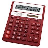Калькулятор Citizen SDC-888XRD красный 12-разрядный 2-е питание, 00, MII, mark up, A0234F