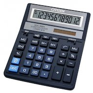 Калькулятор Citizen SDC-888XBL синий 12-разрядный 2-е питание/00/MII/mark up/A0234F