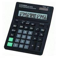Калькулятор Citizen SDC-664S черный 16-разр. 2-е питание, 00, конвертация валют, mark up