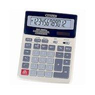 Калькулятор Citizen SDC-620II черный 12-разрядный 2-е питание, 00, TAX, mark up, GT, A023F