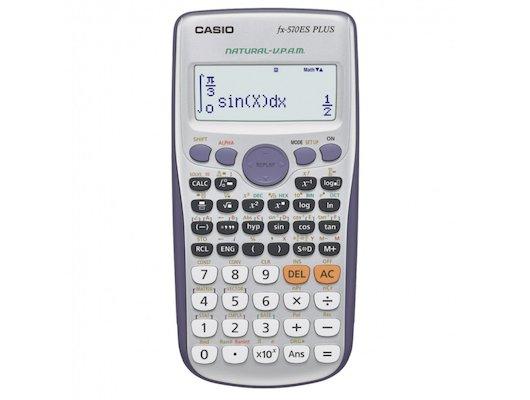 Калькулятор CASIO FX-570ESPLUS 10+2 разряда серый 403 функции питание от батареи