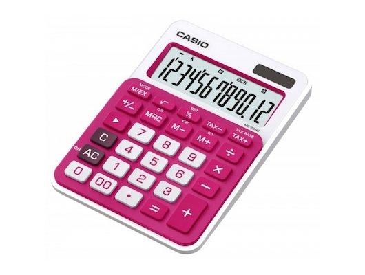 Калькулятор CASIO MS-20NC-RD-S-EC красный 12-разр.