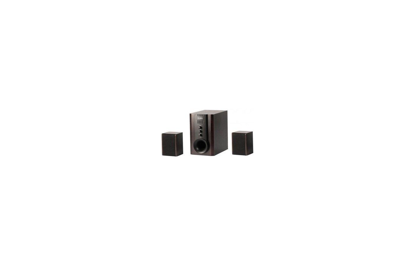 Компьютерные колонки SVEN SPS-821 тёмное дерево/чёрный