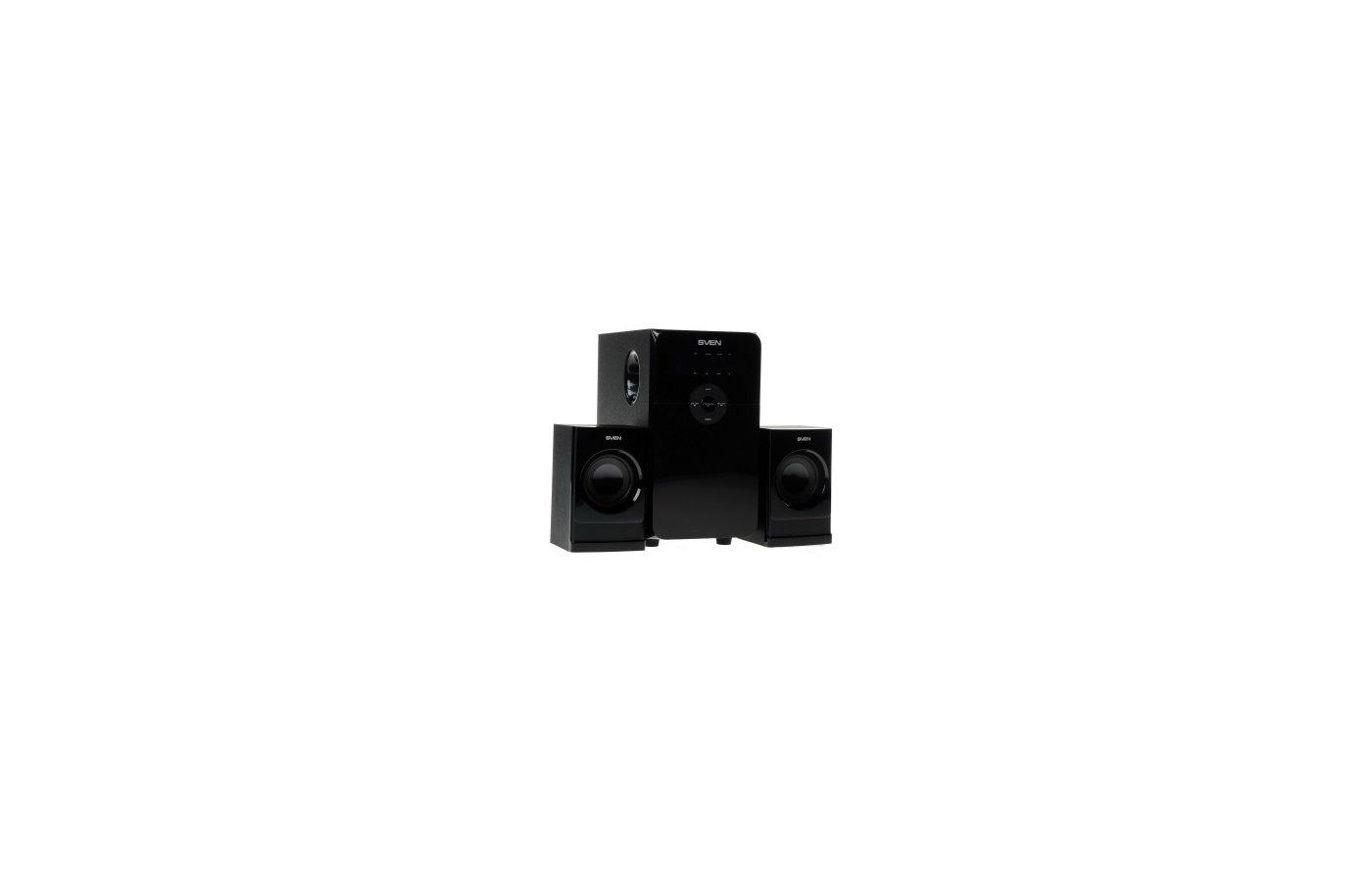 Компьютерные колонки SVEN MS-2000 2.1 черный 40Вт