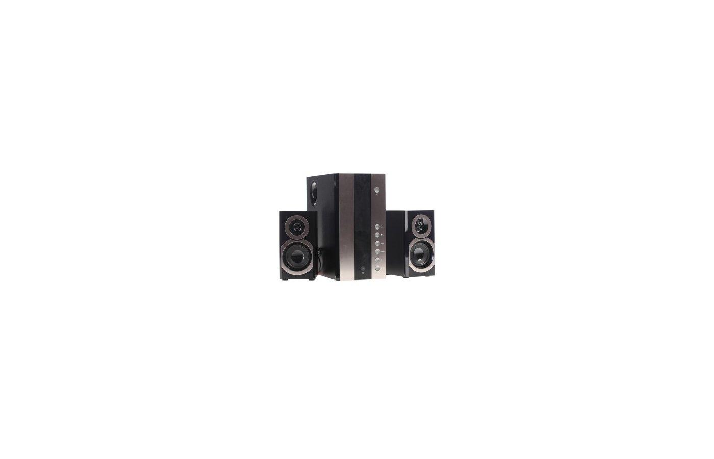 Компьютерные колонки SVEN MS-1090 2.1 черный 40Вт