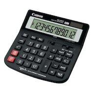Калькулятор Canon WS-220 TC, 12 разр., настольный, налоги и валюта, горизонтальный дизайн, черный