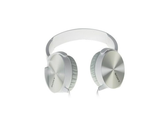 Наушники полноразмерные SONY MDR-XB450AP белый