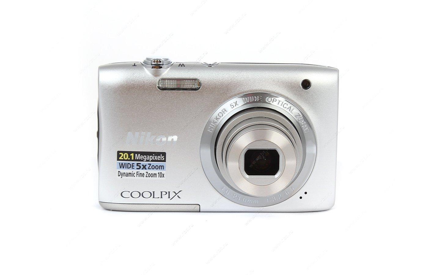 Фотоаппарат компактный Nikon Coolpix S2900 silver