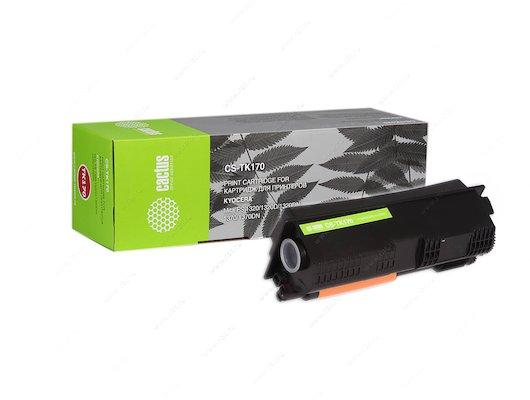 Картридж лазерный Cactus CS-TK170 совместимый черный для KYOCERA Mita FS 1320/ P2135 Ecosys (7200стр.)