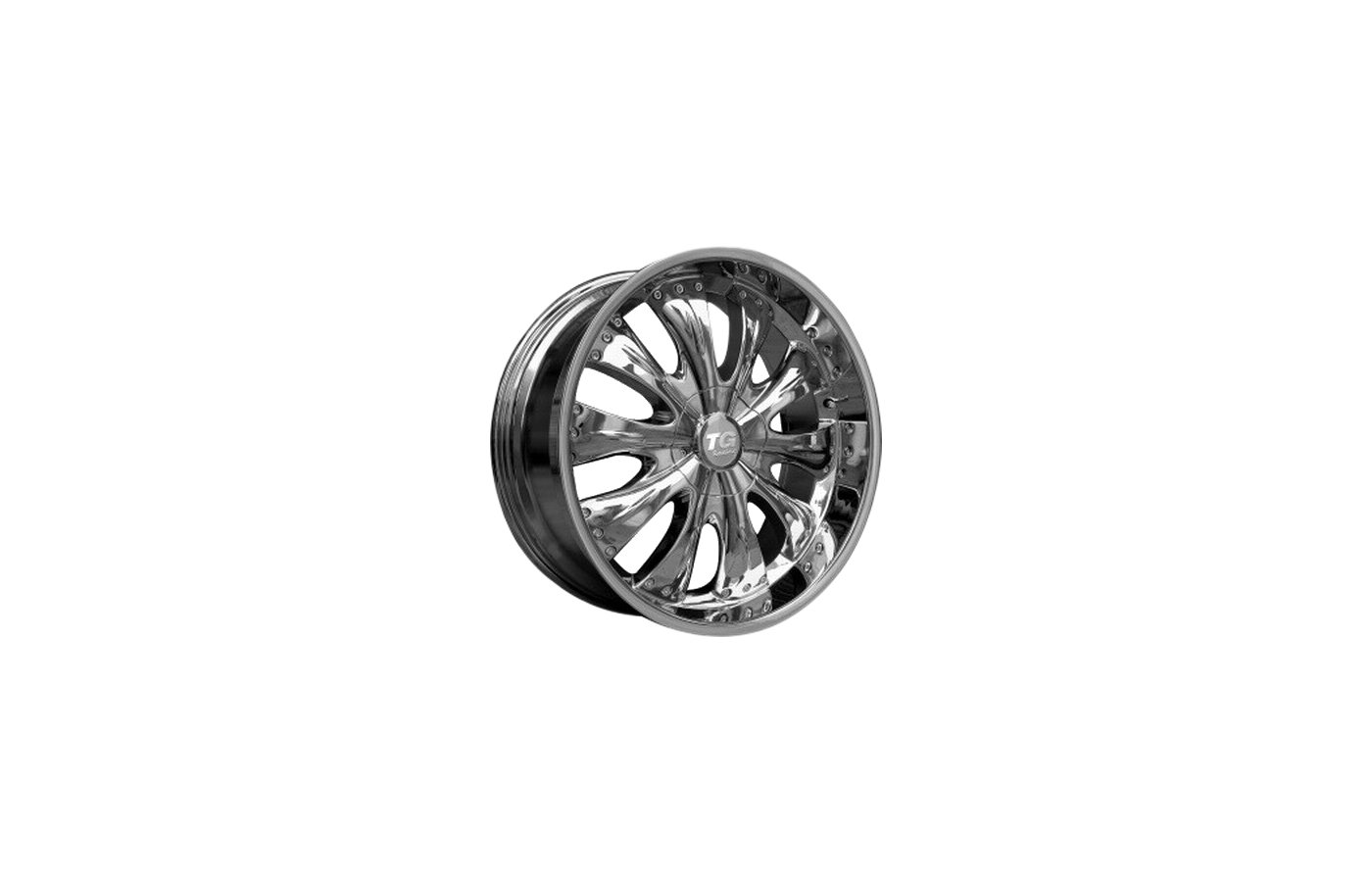 Диск TG Racing LMC007 9x22/10x127/135 D87 ET10 Chrome