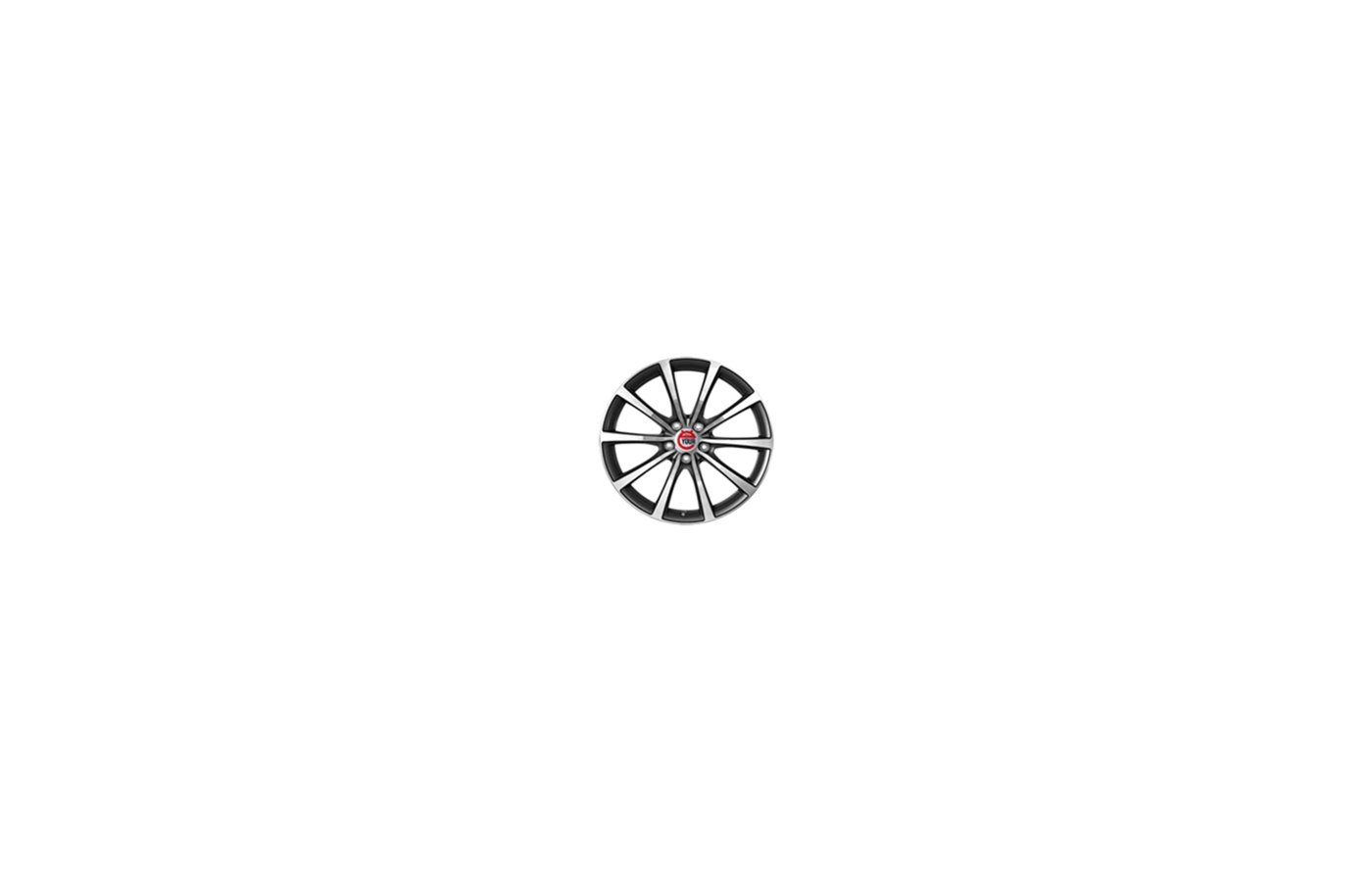 Диск Ё-wheels E07 6x15/5x114.3 D66.1 ET43 GMF