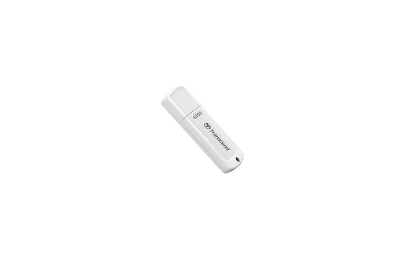 Флеш-диск USB 2.0 Transcend 64Gb JetFlash 370 TS64GJF370 белый