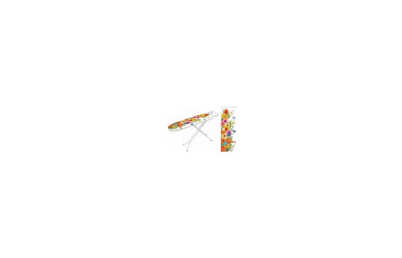 Чехлы и принадлежности для глажки VETTA 451-050 Чехол для гладильной доски хлопок 122x38см Герберы