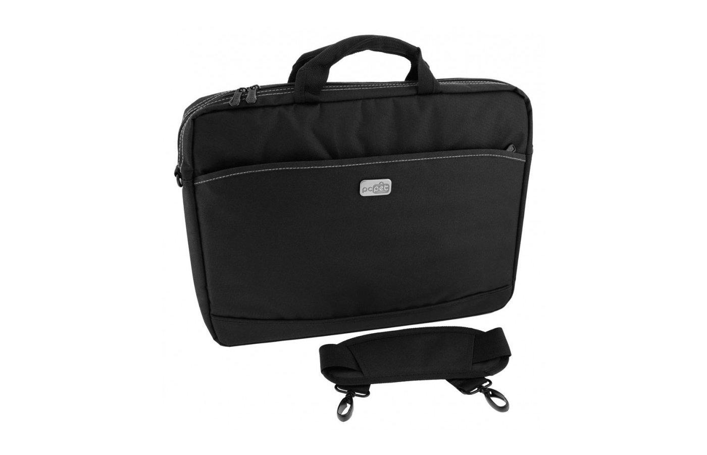 "Кейс для ноутбука PC PET 600D Nylon 17""  (PCP-A1317BK)"