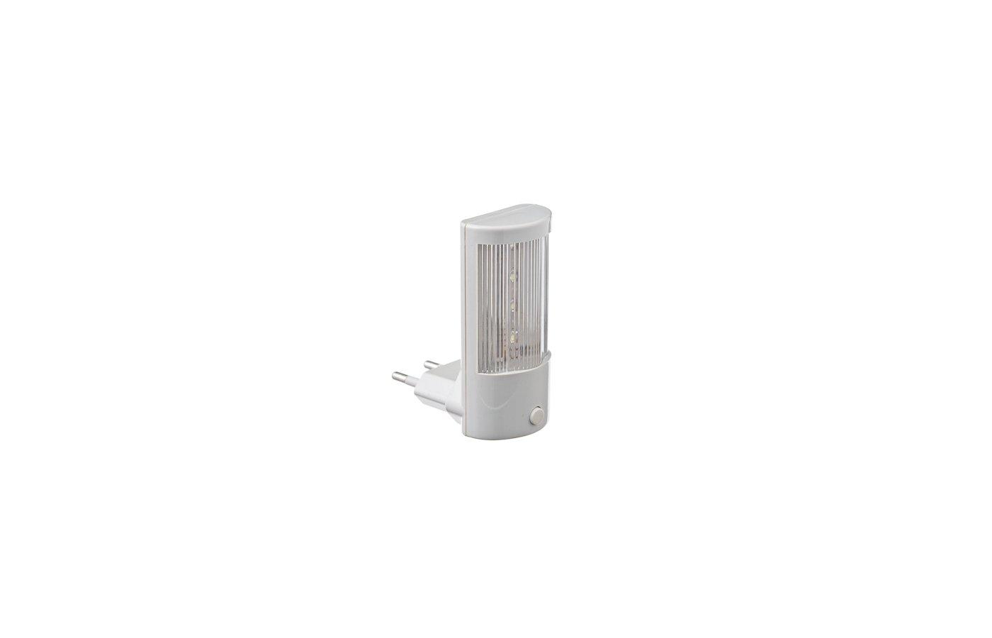Декоративный светильник 920-011 Ночник светодиодный пластиковый с выключателем 220В
