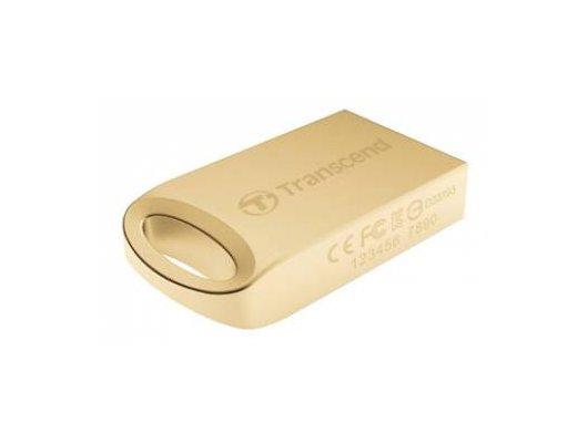 Флеш-диск Transcend 16Gb Jetflash 510 TS16GJF510G USB2.0 золотистый