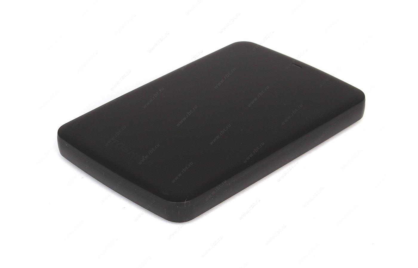 Внешний жесткий диск Toshiba HDTB310EK3AA 1Tb Canvio Basics черный USB 3.0