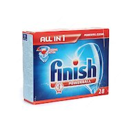 Фото Таблетки для ПММ CALGONIT FINISH Pball ALLin 28шт