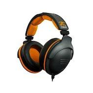 Фото Игровые наушники проводные Steelseries 9H Fnatic Edition 3.2м черный/оранжевый проводные (оголовье)