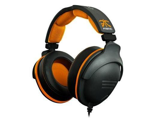 Игровые наушники проводные Steelseries 9H Fnatic Edition 3.2м черный/оранжевый проводные (оголовье)