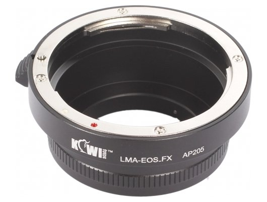 JJC KIWIFOTOS LMA-EOS-FX (Canon EF- FUJIFILM XF) Переходное кольцо