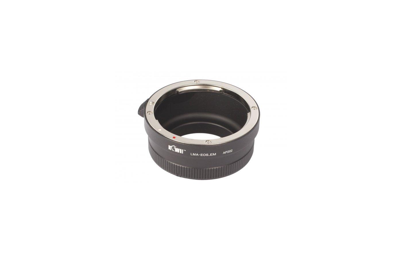 JJC KIWIFOTOS LMA-EOS-EM (Canon EF-Sony E-Mount NEX) Переходное кольцо