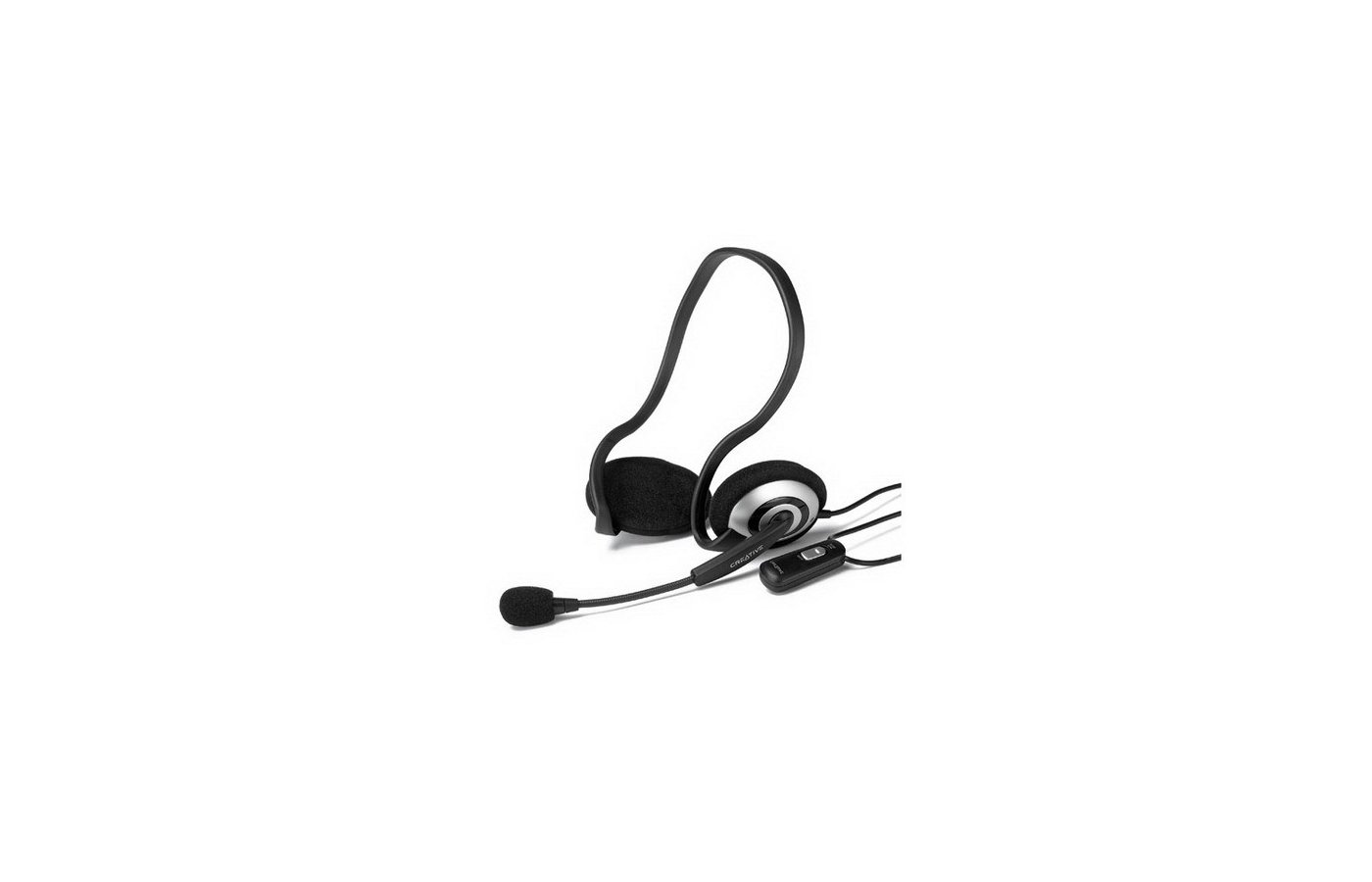 Наушники с микрофоном проводные Creative HS-390 MSN Edition
