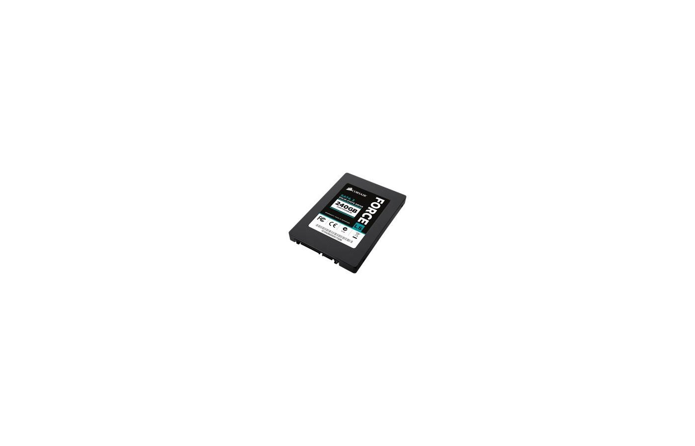 SSD жесткий диск Corsair SATA-III 240Gb CSSD-F240GBLSB Force LS 2.5