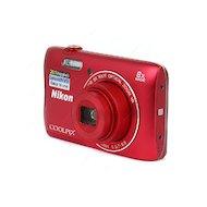 Фото Фотоаппарат компактный Nikon Coolpix S3700 red + 8Gb + case