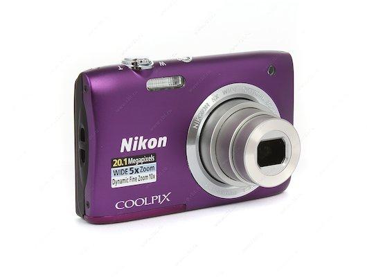 Фотоаппарат компактный Nikon Coolpix S2900 purple