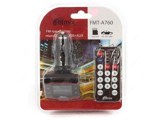 FM Трансмиттер Ritmix FMT-A760