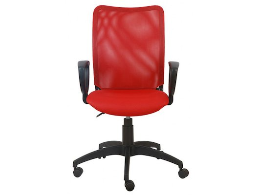 Бюрократ CH-599/R/TW-97N спинка сетка красный TW-35N сиденье красный TW-97N