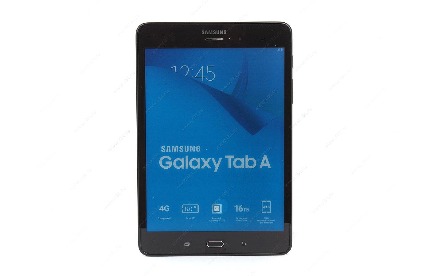 Планшет Samsung GALAXY Tab A 8.0 /SM-T355NZKASER/ LTE 16Gb Black
