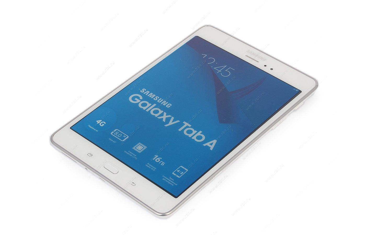 Планшет Samsung GALAXY Tab A 8.0 /SM-T355NZWASER/ LTE 16Gb White