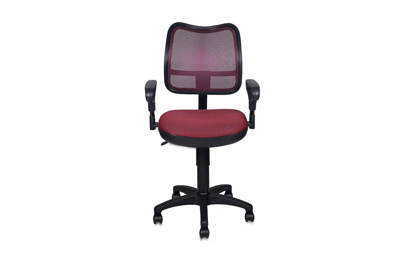 Бюрократ CH-799/CH/TW-13N спинка сетка бордовый сиденье темно-бордовый TW-13N