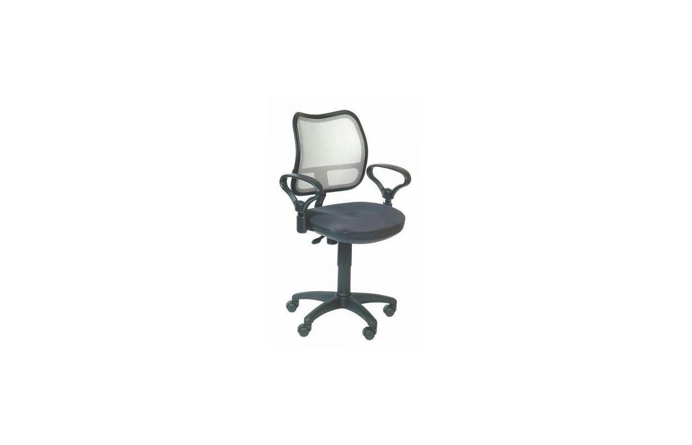 Бюрократ CH-799/LG/TW-12 спинка сетка светло-серый сиденье серый TW-12