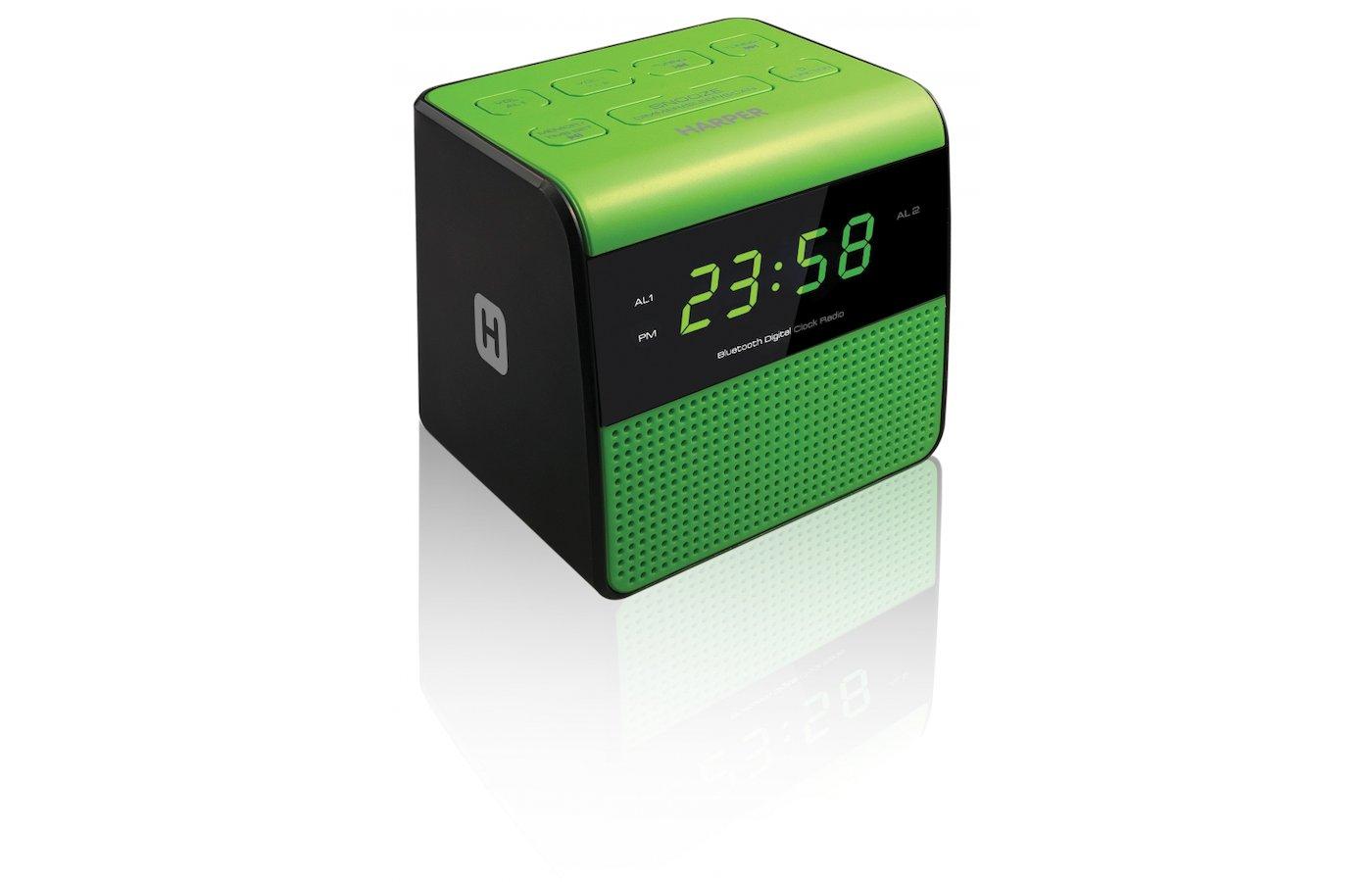 Настольные часы HARPER HRCB-7768 Радиобудильник с блютуз