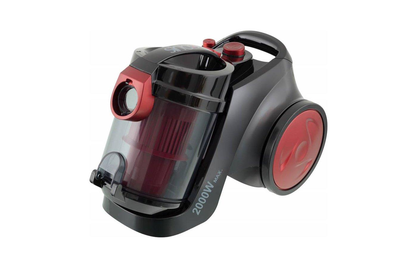 Пылесос SINBO SVC-3459 красный/черный