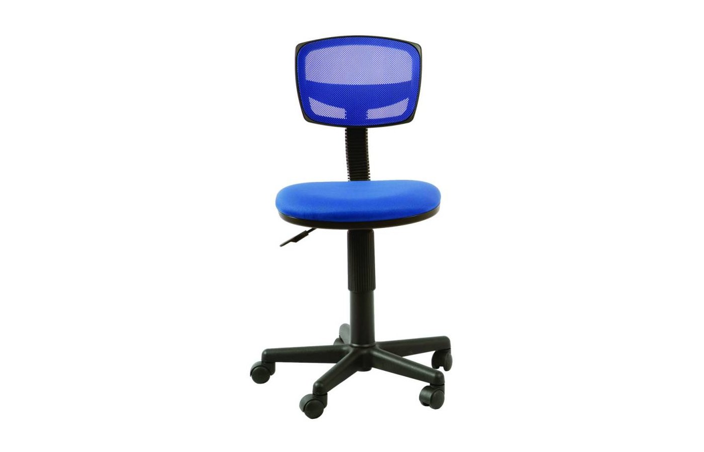 Бюрократ CH-299/BL/15-10 спинка сетка синий сиденье синий 15-10