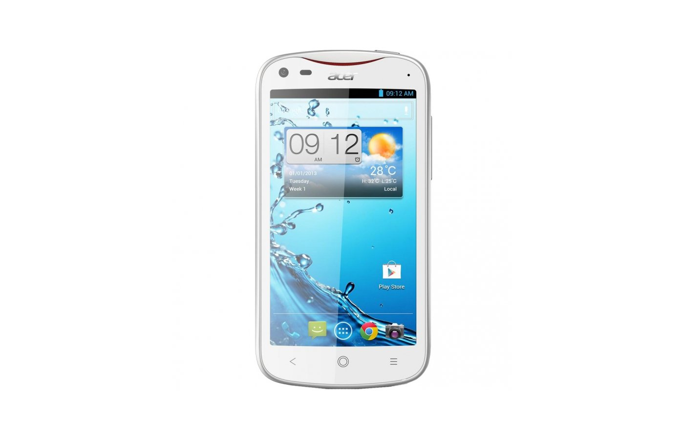 Смартфон digma z520 3g citi 8gb белый моноблок 3g 2sim 5 720x1280 android 51 8mpix wifi bt gps gsm