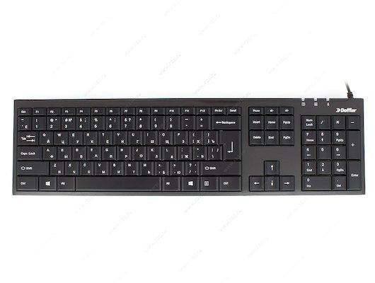 Клавиатура проводная DOFFLER K401