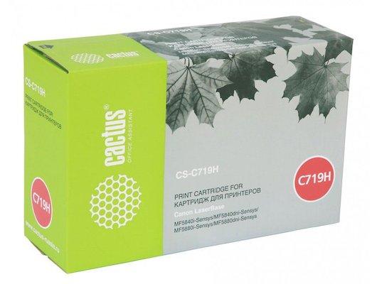 Картридж лазерный Cactus CS-C719H