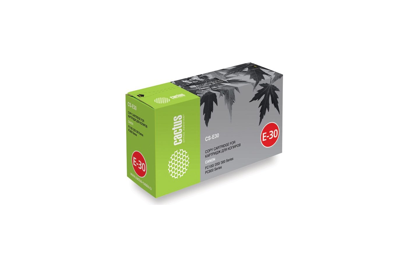 Картридж лазерный Cactus CS-E30S для Canon FC100 200 300 Series PC800 Series (4000стр.)