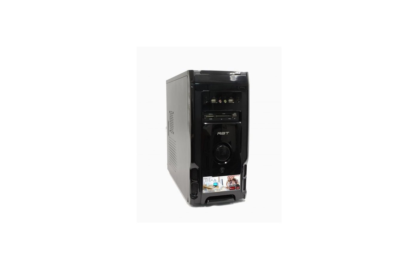 Системный блок РБТ R239 AMD A4 5300 X2 3.4Gh/4Gb/500Gb/HD7480D/DVD-RW/CR/Win7HB