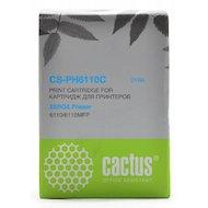 Картридж лазерный Cactus CS-PH6110C (106R01206) совместимый голубой для Xerox 6110/6110MFP (1000стр.)