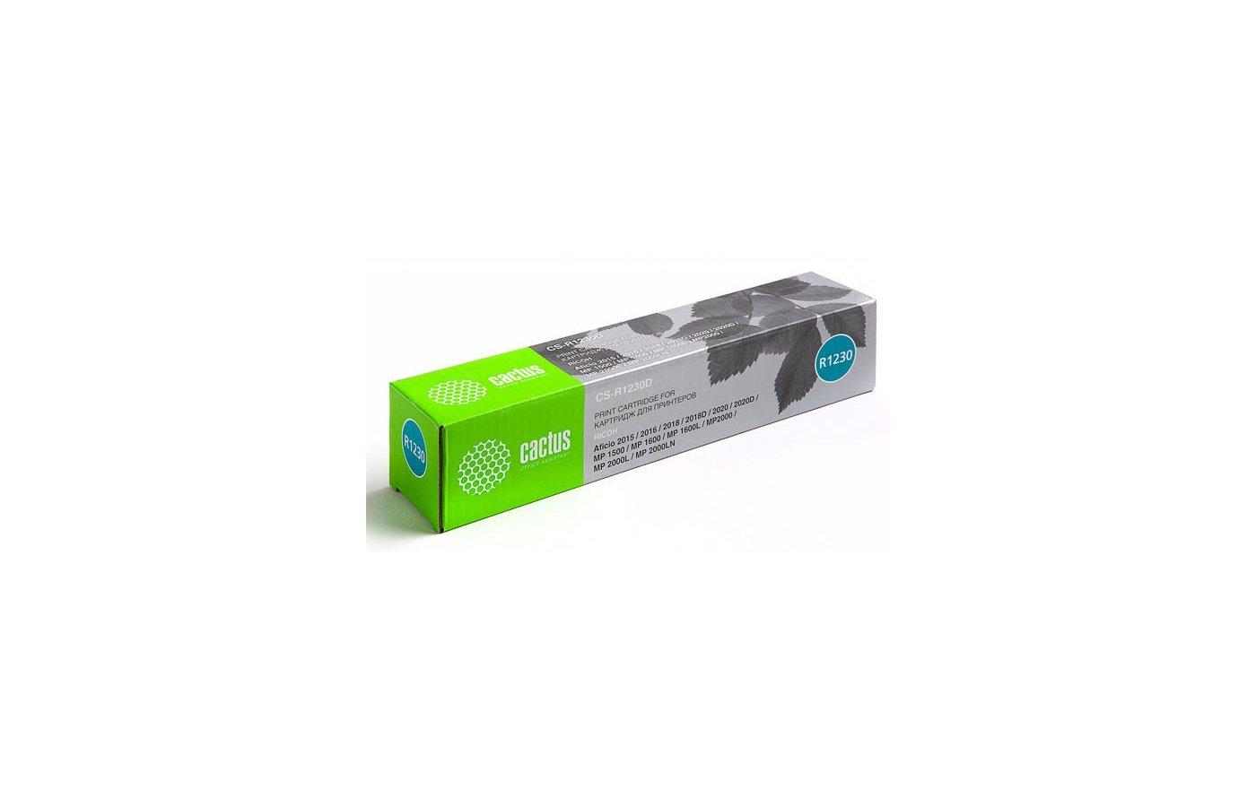 Картридж лазерный Cactus CS-R1230D совместимый черный для RICOH FT 4022/4127/4522/4622/4822 (9000стр.)