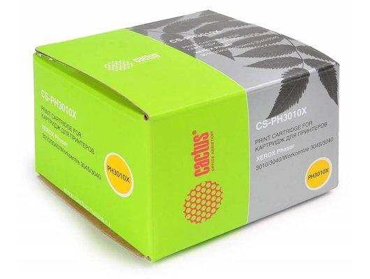 Картридж лазерный Cactus CS-PH3010X (106R02183) совместимый черный для Xerox Phaser 3010 WorkCentre 3045 (2300стр.)