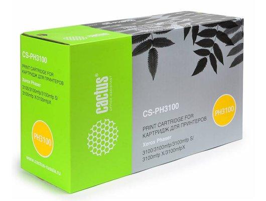 Картридж лазерный Cactus CS-PH3100 (106R01379) совместимый черный для Phaser 3100MFP (4000стр.)
