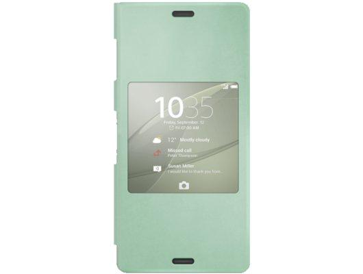 Чехол SONY SCR24 для Xperia Z3 зеленый